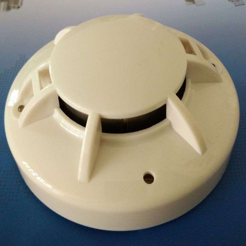 Conventional Alarm System 2 Wire Multi Sensor Smoke Detector Heat Alarm Conventional Smoke And Heat Detector 24V Fire Safety