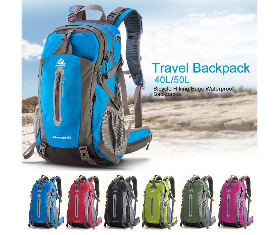 AONIJIE 40L/50L Outdoor Sport Camping Shoulder Bags