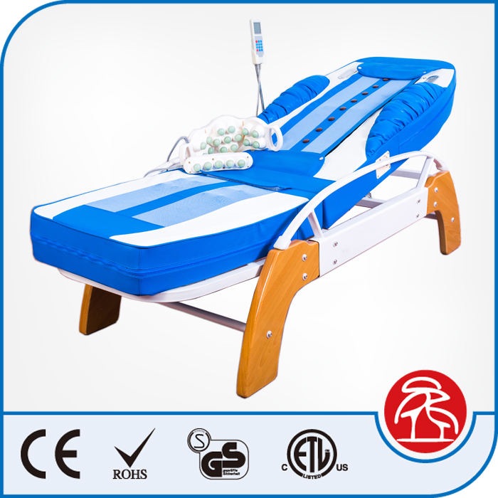 Factory Direct Sale Auto Incline Decline Function Back 9 Jade Roller Whole Body Massage Bed