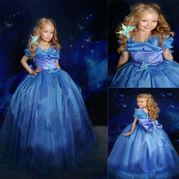 Cinderella 2015 Costumes Girls Dresses Shoes Jewelry: Aliexpress.com : Buy Baby Girls Dresses Summer 2015