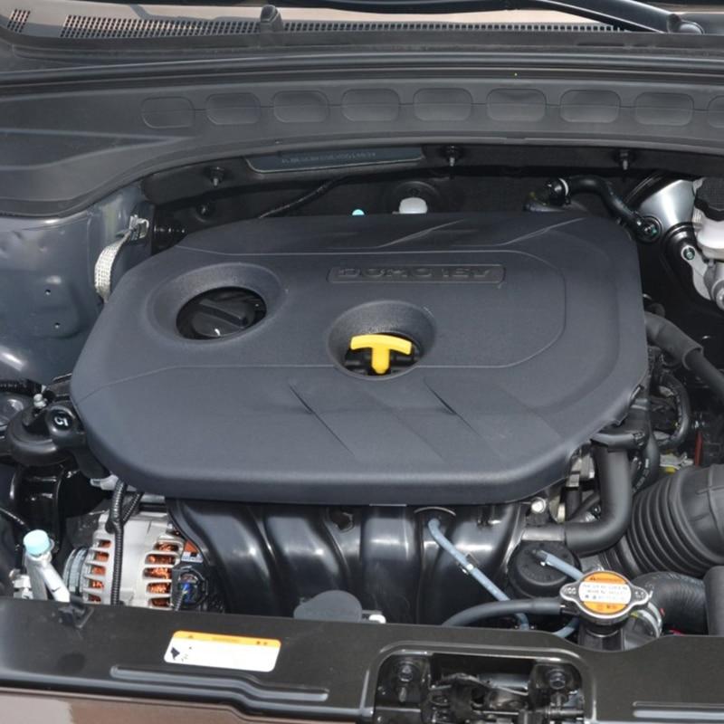 Motor de carro de plástico proteger capa para hyundai creta ix25 2.0l