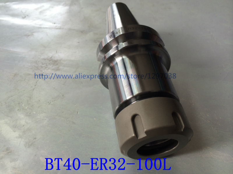 1pcs BT40-ER32-100L  Collet Chuck Toolholder Suitable for ER20 Spring collet and ER20 nut CNC Milling Toolholder