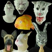 Хэллоуин маска маска террорист голова животного золотая рыбка маска волка маска кролика капот белка собаки