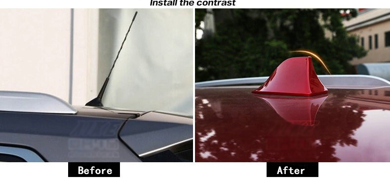 car styling Car antenna Shark fin signal radio for Peugeot Volkswagen vw ford toyota renault skoda opel car accessories kia rio