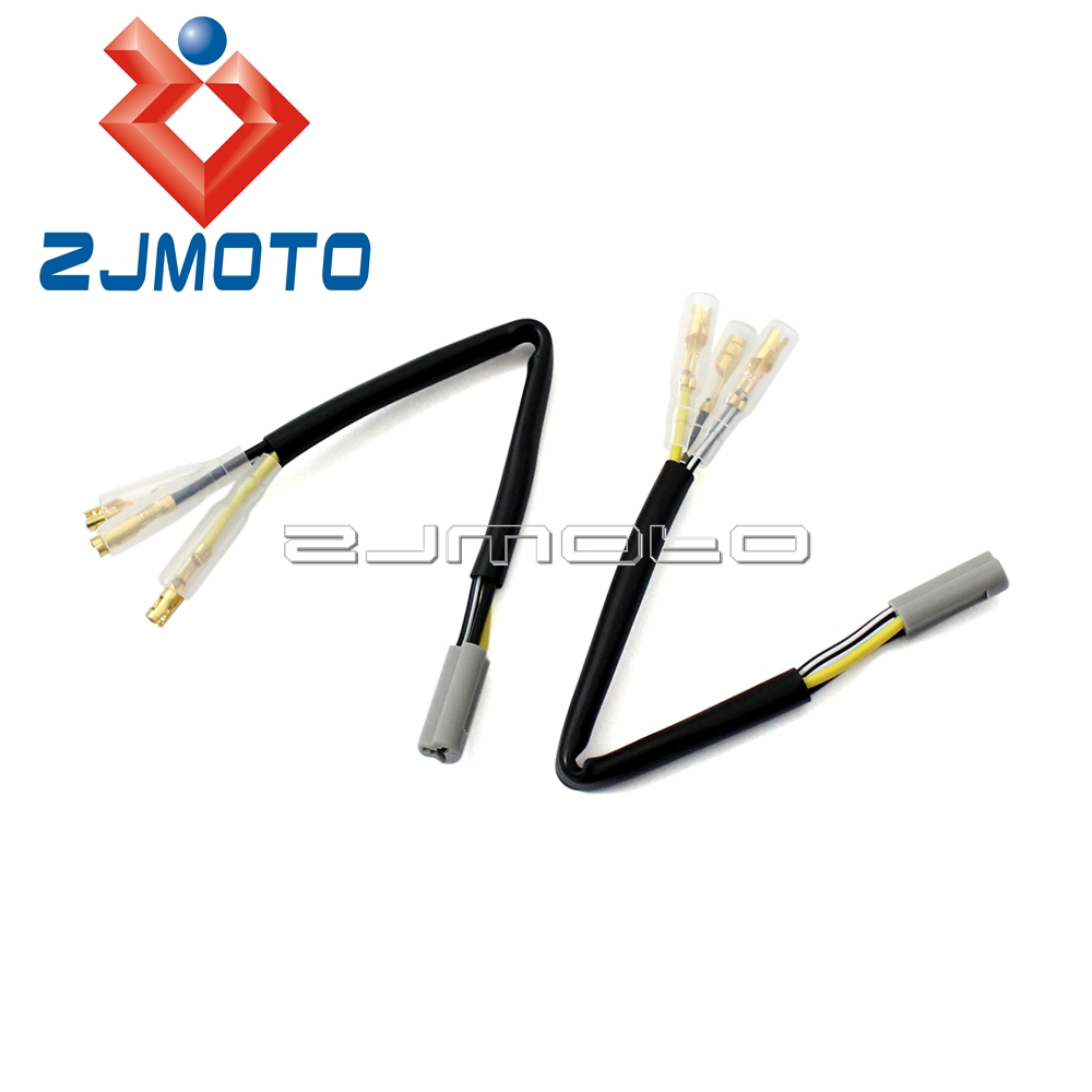 hight resolution of motorcycle turn signals wiring adapter plug harness connectors for yamaha yzf r6 r1 fz6 fz6r fz09 fz10 fz 1 tmax indicator leads in covers ornamental
