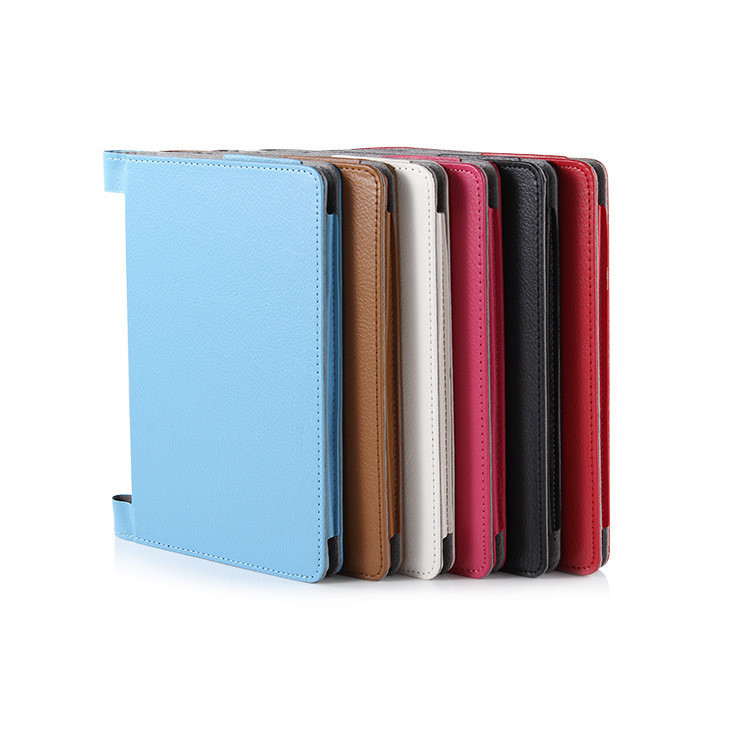 fashion tablet cover case For lenovo yoga tablet 2 10.1 1050f 1050 1051 10.1 inch Tablet PU leather covers+pens