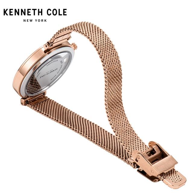 Kenneth Cole 2018 New Arrivals Womens Watches Quartz Steel Gold Silver Strap Bracelet Luxury Brand Watches KC50232004 4