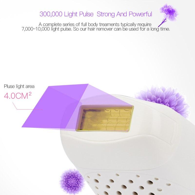 Laser IPL Epilator Hair Remover Pulse Light Epilator Painless Hair Removal Machine Depilation For Body Facial Bikini Depilador