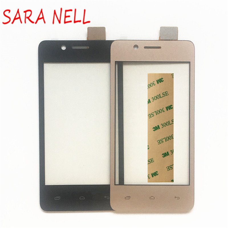 SARA NELL Phone <font><b>Touch</b></font> Panel For <font><b>Micromax</b></font> Bolt <font><b>Q402</b></font> <font><b>Touch</b></font> Screen Screen Digitizer Sensor Front Glass Lens Touchscreen +Tape image