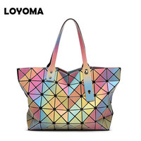 Free Shipping New Hello BAOBAO Isey Miyke Bag Women Handbags Famous Brands Louis Anime ABS Messenger
