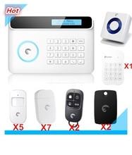 Wireless Etiger S4 GSM alarm system Home Burglar Security Alarm system SMS APP Control Alarm