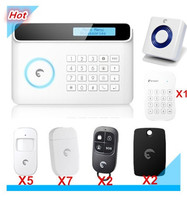Wireless Etiger S4 GSM alarm system Home Burglar Security Alarm system SMS APP Control Alarm System