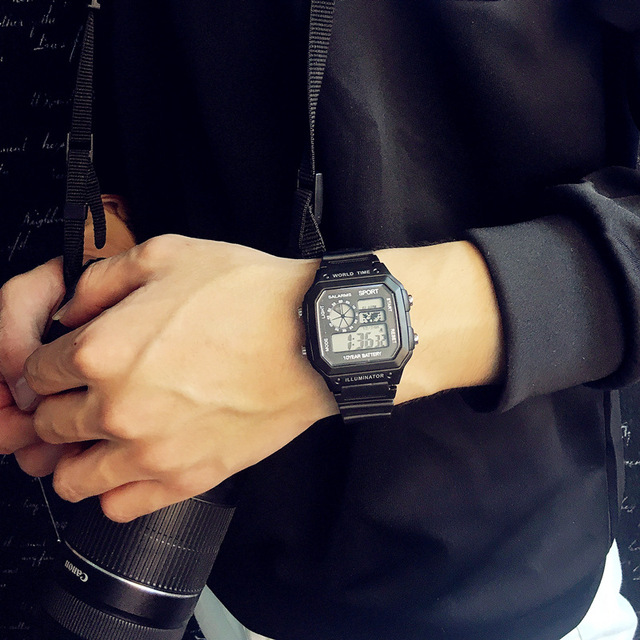 Finda Brand Men Sports Watches LED Digital Watch Fashion Outdoor Waterproof Military Men's Wristwatches Relogios Masculinos 2016