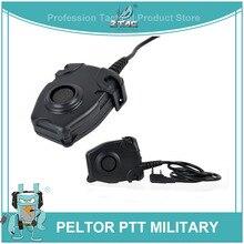 Z-Tactical Боуман Elite II Военная гарнитура стандарт голосовой связи PTT для Motorola Kenwod Midland Радио Телефон Z112 для Wargame