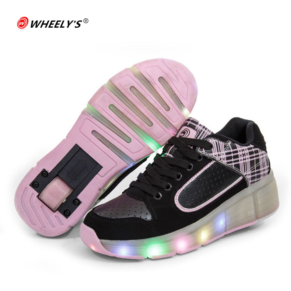 Skate shoes pink