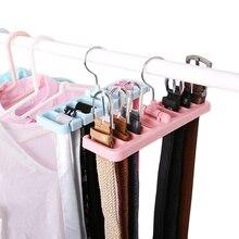 1 шт. многофункциональная стойка для хранения, органайзер для галстука, вращающаяся вешалка для галстука, держатель для шкафа, для организации гардероба, отделочная стойка, место
