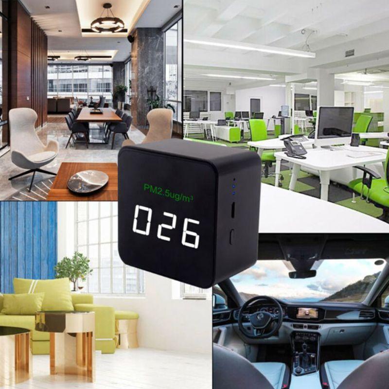 Monitor Digital de calidad del aire láser PM2.5 Detector probador monitor de Gas/analizador de Gas Etmakit, gran calidad, chasis de escritorio, lector de tarjetas integrado, lector de tarjetas multifunción de 3,5 pulgadas