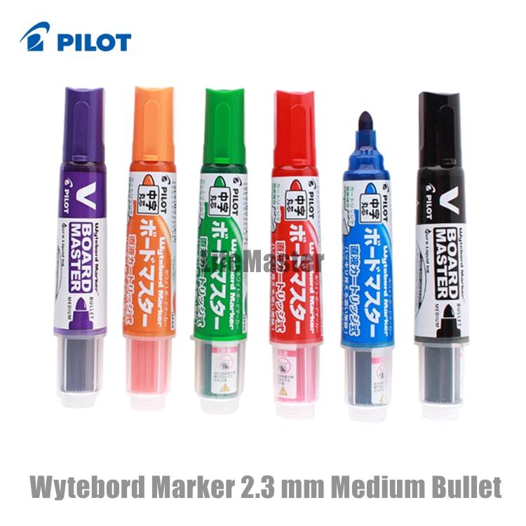 Safe! Pilot Whiteboard Marker 2.3mm (Medium Bullet) Refillable Liquid Ink Wytebord WBMAVBM-M School & Office Supplies