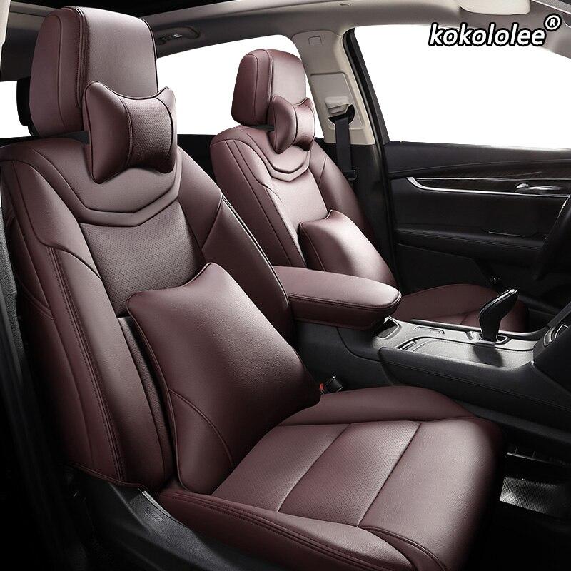 Kokololee housse de siège de voiture en cuir sur mesure pour CHANGAN CS35 CS75 CS15 CS95 CS55 Benben EV MINI LOVE Yuexiang V3 V5 V7 CX20