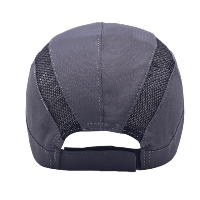 New Outdoor Sunscreen Mesh Beach Baseball Cap Adjustable Back Cover Sunshade Breathable Headdress