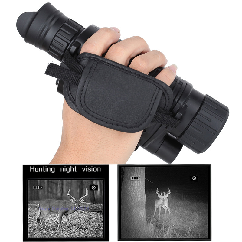 Caccia Night Vision Monoculare 2017 Tactical Infrarossi Dispositivo di Visione Notturna del Telescopio HD Militare Digitale Telescopio Potente