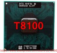 기존 인텔 코어 2 듀오 t8100 cpu (3 m 캐시  2.10 ghz  800 mhz fsb  듀얼 코어) gm45 pm45 노트북 프로세서 무료 배송|CPU|컴퓨터 및 사무용품 -