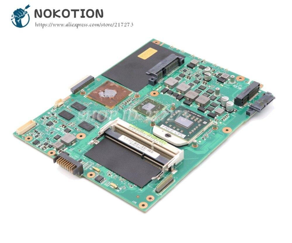 NOKOTION Laptop Motherboard For Asus K52DR K52DE K52D MAIN BOARD DDR3 Free CPU HD5740 60-NZRMB1000-D16 for asus k52dr laptop motherboard rev3 1 60 nzrmb1000 hd 5470 ddr3 free shipping 100