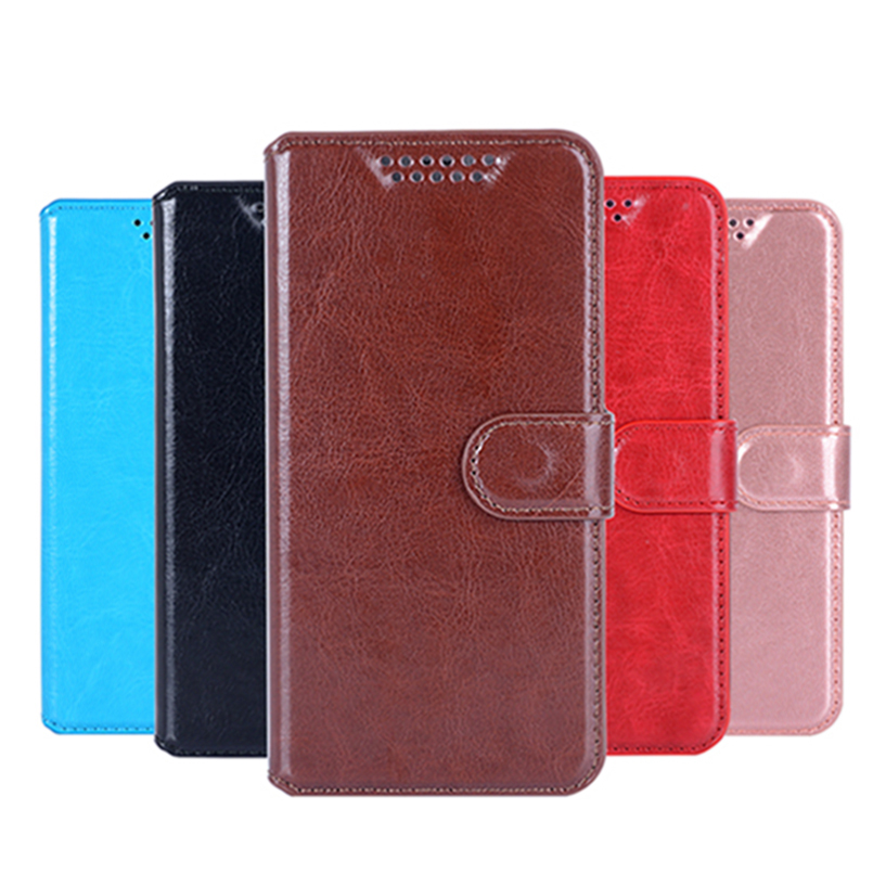 Cover Case For Asus Zenfone GO TV ZB551KL Flip PU Leather Wallet Case For Asus ZB551KL With Card Holder Stand Design