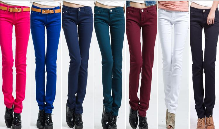 Colored Jeans Womens - Legends Jeans