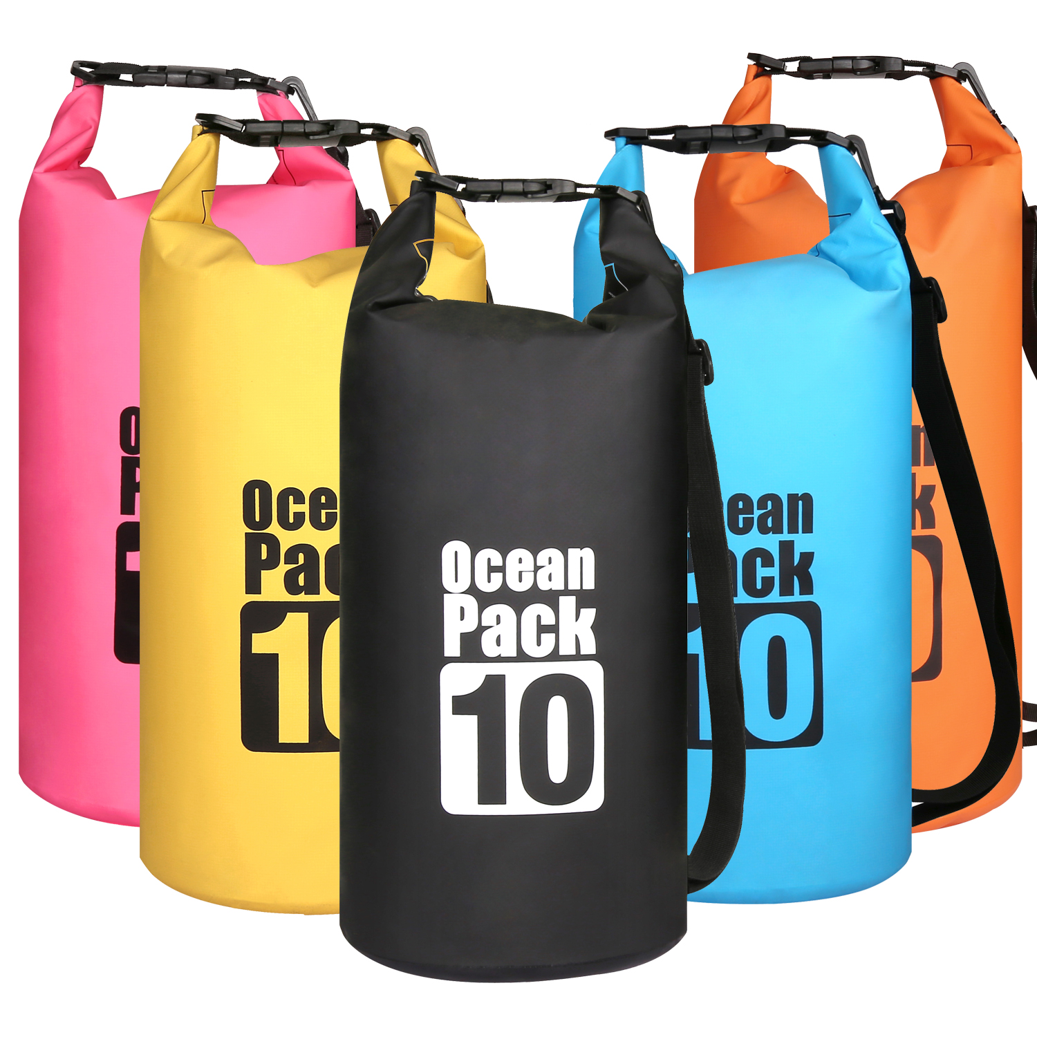 10L Waterproof Water Resistant Dry Bag Sack Storage Pack Pouch Swimming Outdoor Kayaking Canoeing River Trekking Boating