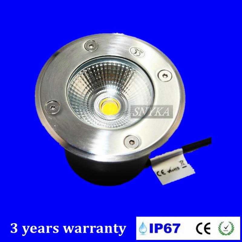 Creative 8pieces 15w Cob Led Underground Light Spot Lamp Ip67 Waterproof Lamp Outdoor Under Ground Garden Light Ac85-265v/dc12v Lights & Lighting Led Lamps