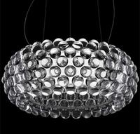 LED pendant light Modern 50cm,65cm Foscarini Caboche Ball Golden Pendant Lamp FG839