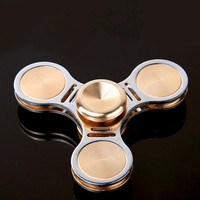 Funny Toy Fidget Spinner Brass Alloy EDC Hand Spinner For Autism And ADHD Birthday Gift