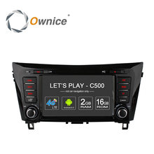 Ownice C500 4G SIM LTE Android 6.0 Quad Core Voiture DVD GPS pour Nissan Qashqai X-trail 2014 wifi 1024*600 2 GB RAM 16 GB ROM 1024*600