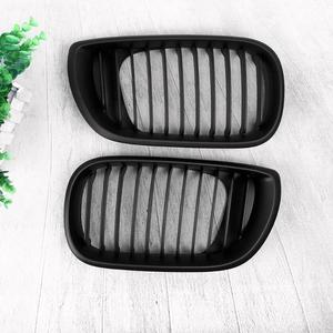Image 5 - 1 Pair Front Kidney Grille ABS Car Racing Grills for BMW 3 Series E46 4 Doors 02 05 318I 320I 325I 330I Car Styling Accessories