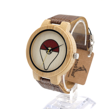 БОБО ПТИЦА Бамбук Часы Люксовый Бренд Деревянные Часы для Мужчин и Женщин Повседневная Вуд Наручные Часы Кварцевые Часы в качестве Подарков E11