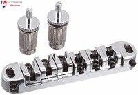 1set BM 06 Locking Tune O Matic Guitar Bridge Roller Saddle For Replacement