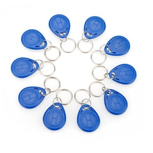 High Quality 10 Pcs/lot 125Khz RFID Tag Proximity Keyfobs Ring Access Control Card for Access Control Time Attendance