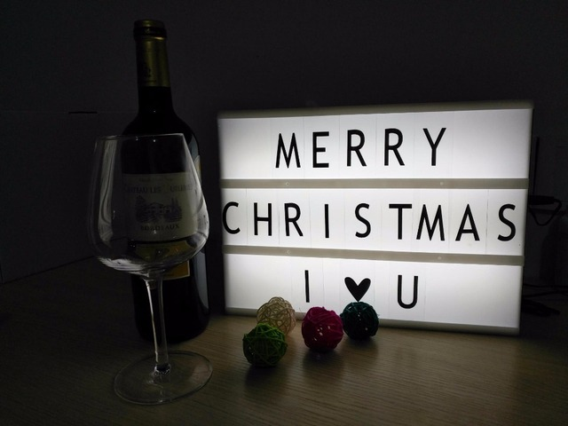 led birthday Christmas lights gift to declare the artifact children sleep  lights DIY letters Lightbox LCL - Led Birthday Christmas Lights Gift To Declare The Artifact Children