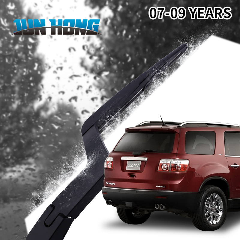 JunHong Rear Rain Window Windshield Wiper Blade For GMC Acadia2007 2008 2009 Rubber Window Windscreen Car Accessories in Windscreen Wipers from Automobiles Motorcycles