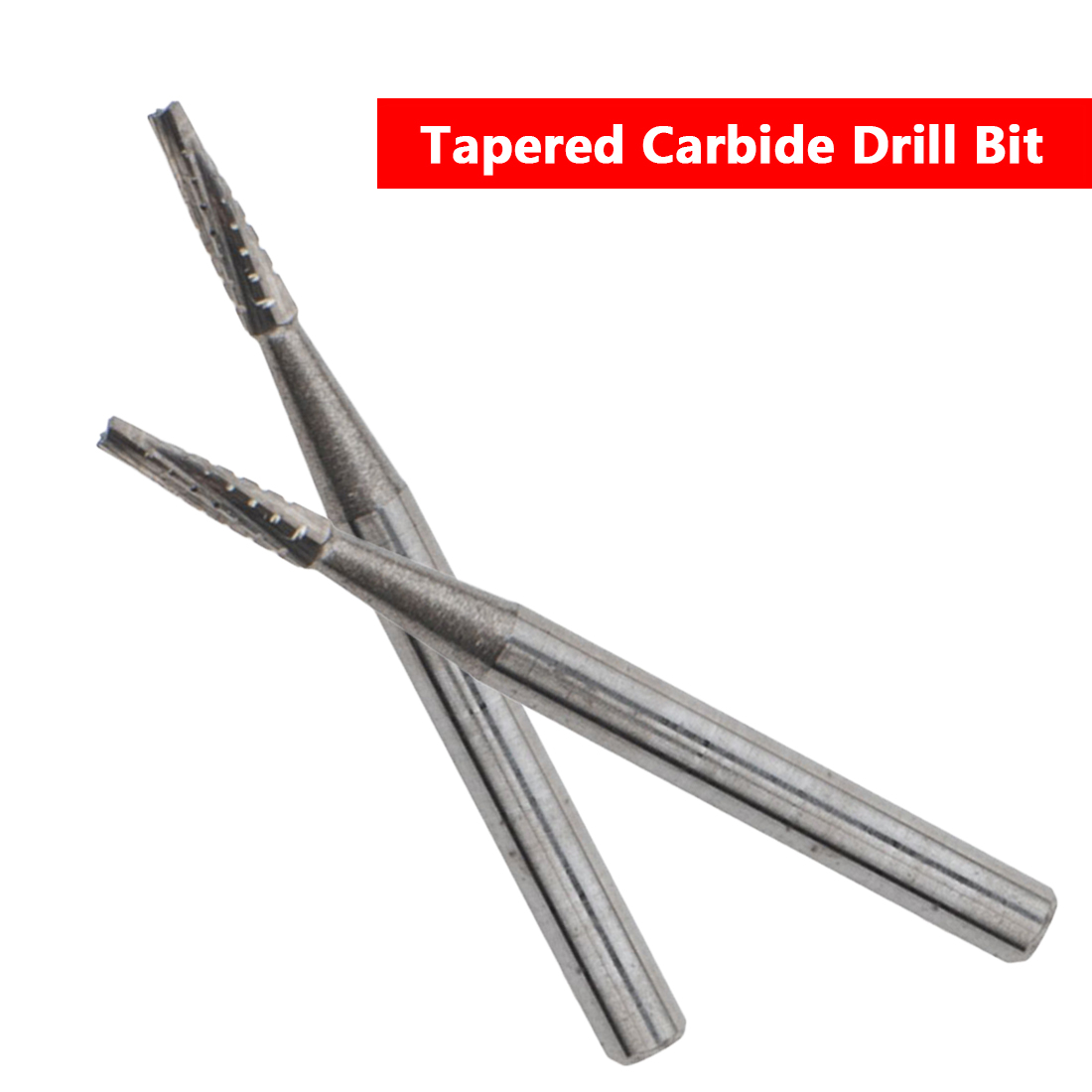Tapered Carbide Drill Bit 1mm Diameter DIY Car Glass Automobile Windshield Repair Tool For Auto Glass Sliver
