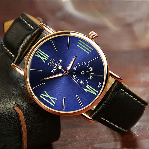 YAZOLE Wrist Watch Roman numerals Mens Watch Men Watch Luminous Sport Mens Watches Clock saat erkek kol saati reloj hombre Islamabad