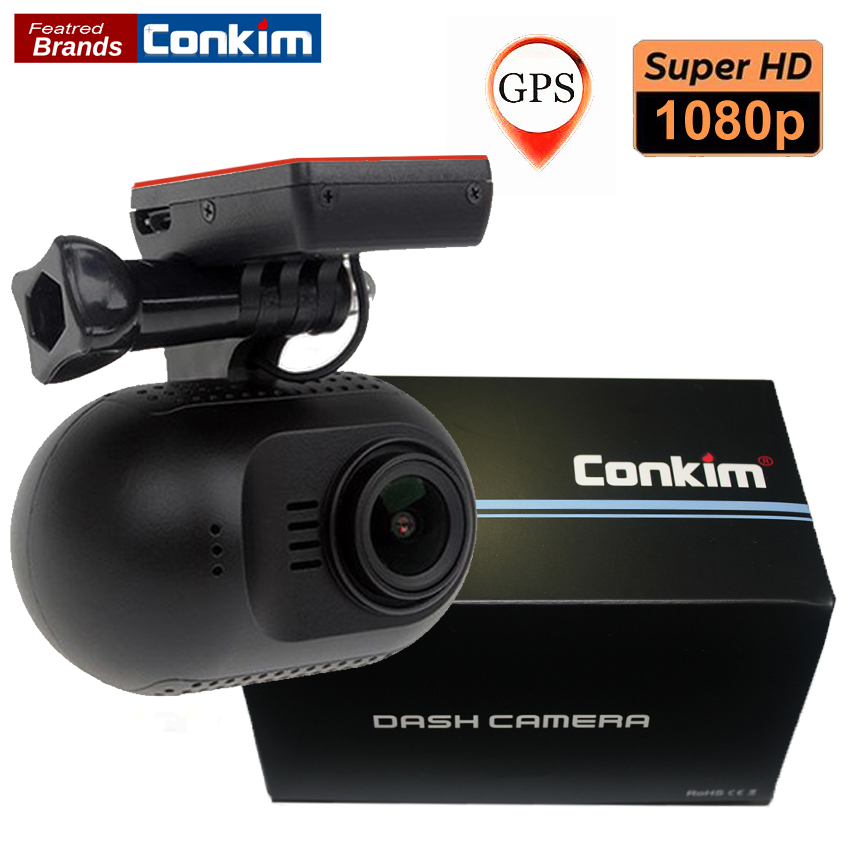 Conkim Video Registrator WIFI Camera GPS Car DVR Recorder 1080P Full HD NT96655 1.5 Dash Camera Parking Guard Mini 0903 NanoQ conkim mini 0807 ambarella a7 dash camera 1080p full hd video recorder registrar car dvr gps parking guard record dual tf card