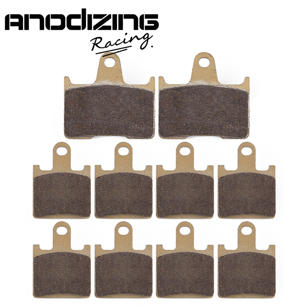 Motorcycle Front and Rear Brake Pads For KAWASAKI ZG1400 ZZR GTR ZX 1400 NINJA ZX-14R 2006-2017