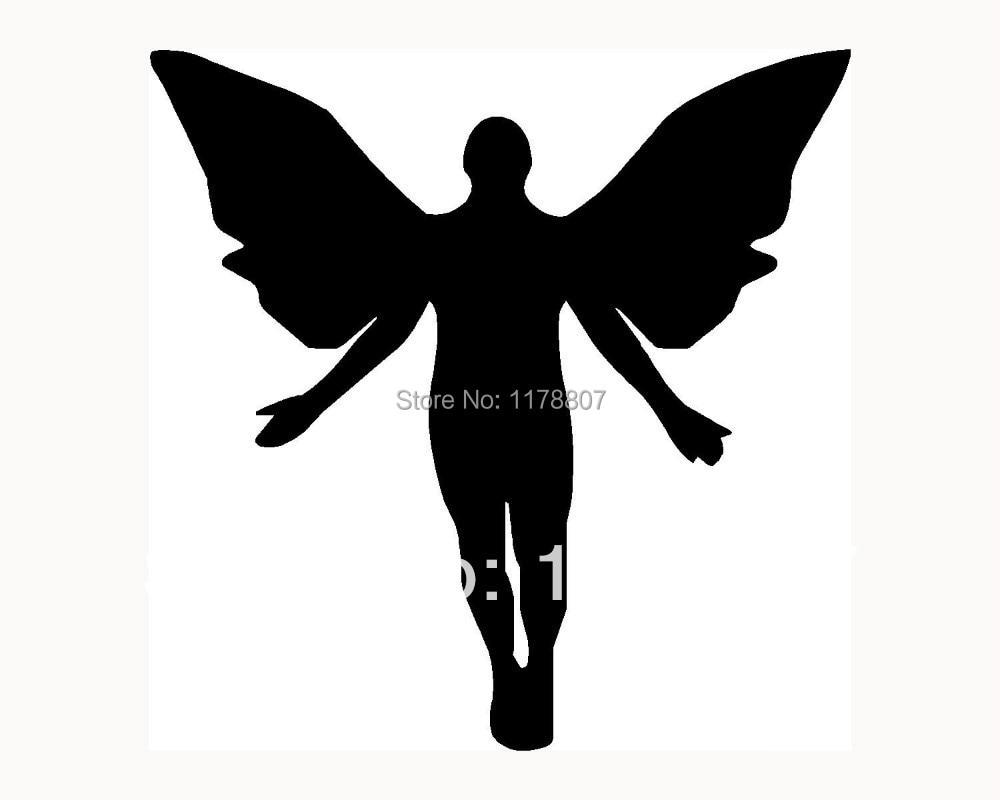 Grosir sayap malaikat stiker mobil jendela vinyl decal peri lucu girlie surga christian di dari aliexpress com alibaba group