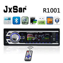 Car Electronics 12V/ 24V Autoradio Audio Player 1 DIN Car Radio Kits Stereo FM Tuner Bluetooth AUX MP3 Player SD USB Car-Charger