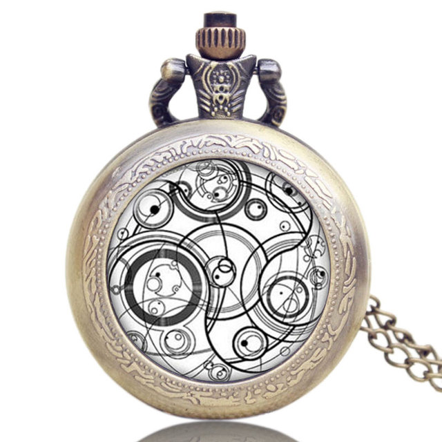 Hot selling uk tv series doctor who design pocket watch chain hot selling uk tv series doctor who design pocket watch chain pendant watch gift for men mozeypictures Images
