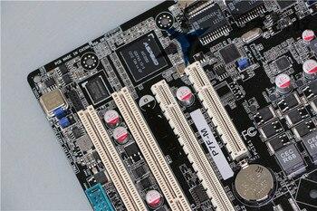 الأصلي اللوحة الأم ل ASUS P7F-M DDR3 LGA 1156 إنتل 3420 PCH ECC الذاكرة 16GB VGA سطح المكتب