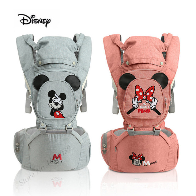 2019 Dropshipper vip Disney Ergonomic Baby Carriers Backpacks 0 36 months Newborn kangaroo Carrying Belt for Mom Dad