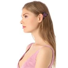 Women's Fashion Simple Color Gem Alloy Comb  JW365